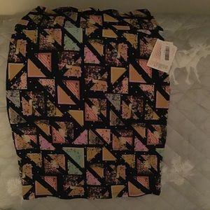 LulaRoe Cassie Skirt NWT